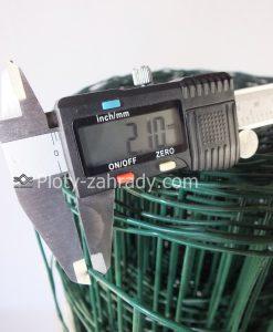 Zvárané pletivo zelené 2,1 mm