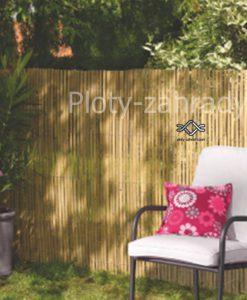 Bambusová rohož zo štiepaného bambusu je výborná dekorácia do záhrad, na balkóny a terasy.