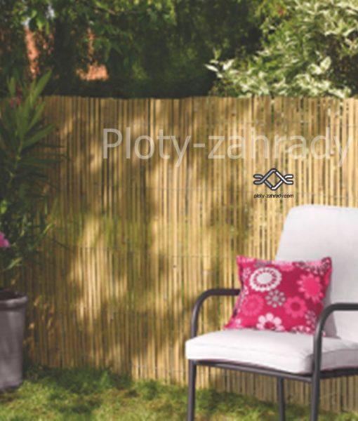 Bambusová rohož zo štiepaného bambusu je výborná dekorácia do záhrad, na balkóny a terasy (1)