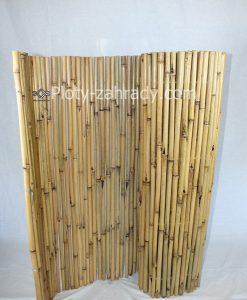 Bambusový plot s priemerom 9 mm -15 mm