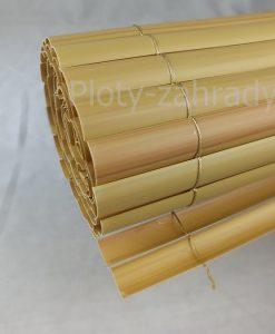 Plastové trstinové rohože - oválny profil, prírodná trstinová farba cená