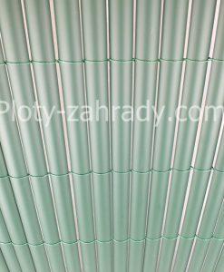 Bambusové rohože – zelené polovičné profily z plastu cená