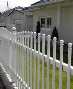 Hliníkový plot – Belle