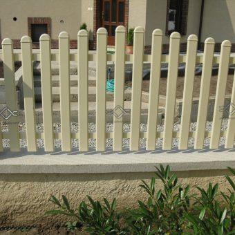 Hliníkový plot – Madeira