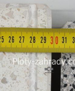 Krycie dosky z umelého technického kameňa