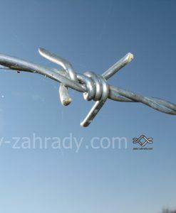 Ostnatý drôt pozinkovaný cená