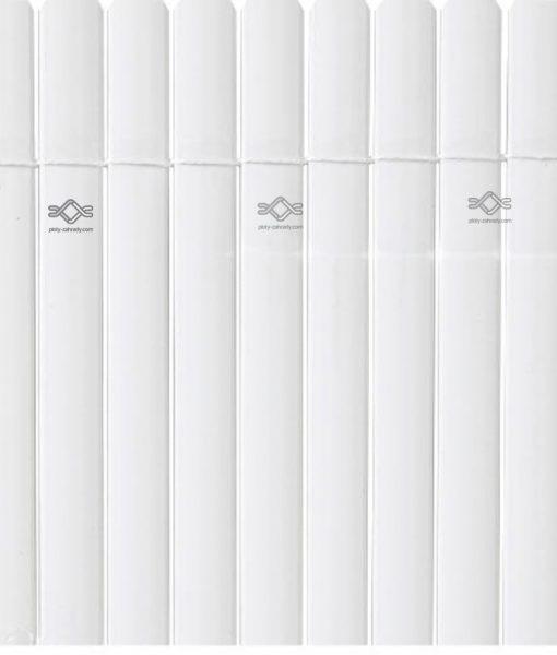 Plastový bambusový plot biely, Plast. Oval1, cena
