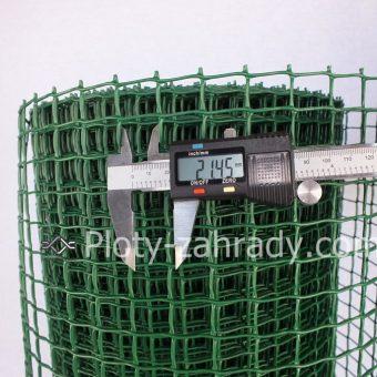 Pletivo záhradné cená. Veľkosť oka 10 mm x 10 mm