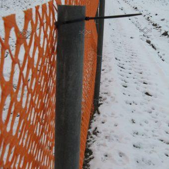 Snehové zábrany na ochranu vozovky pred snehovými závejmi (3)
