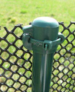 Stĺpiky k sieti proti žabám výška 100 cm, zelené cena 1