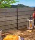Tieniaca clona na plot Havana, hnedá, cena
