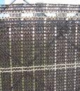 Tieniaca clona na plot. Dekoratívna, tkaná tieniaca clona v tmavohnedej a pieskovej farbe (1)