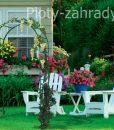 Záhradná pergola cená, je vhodná pre popínavé rastliny, rozmery 240x120x40 cm