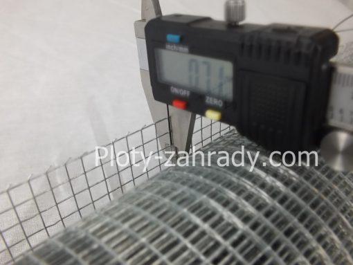 Zvárané siete na klietky Zn 6,4 mm x 6,4 mm cená