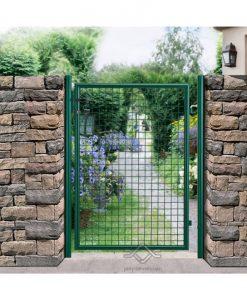záhrádná bránká zelená