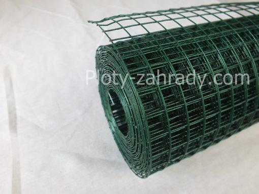 Zvárané pletivo na klietky – poplastované. Vhodné najmä na voliéry pre vtákov, klietky pre zajace a rôzne chovateľské účely cená